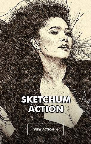 Wet Ink Photoshop Action - 100