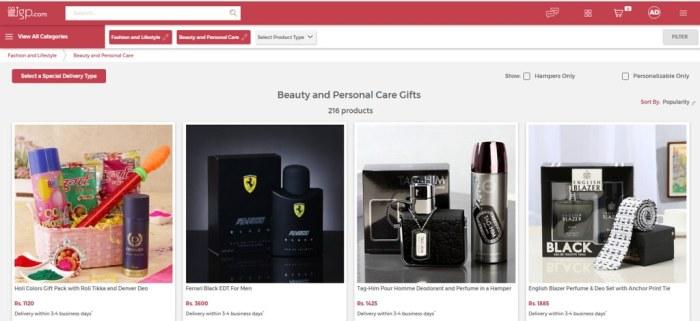 hungrynomads igp.com categories gifting portal