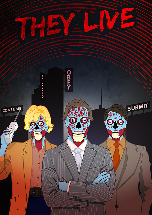 They Live poster design