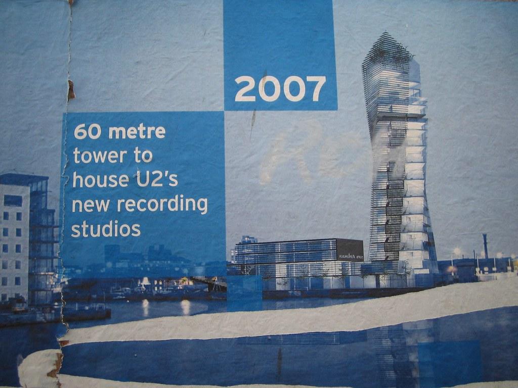 New U2 Recording Studio Poster Update Design Has Changed