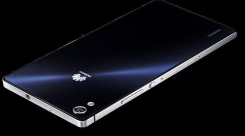 El Huawei 7 saldría extra oficialmente, a un precio de 169.550 con IVA incluído.
