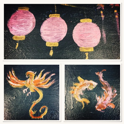 Chinese New Year Painting experiments
