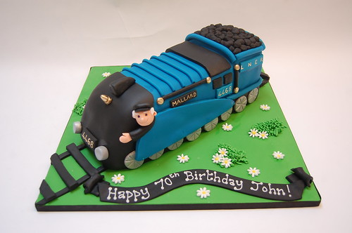 Mallard Train Cake Beautiful Birthday Cakes