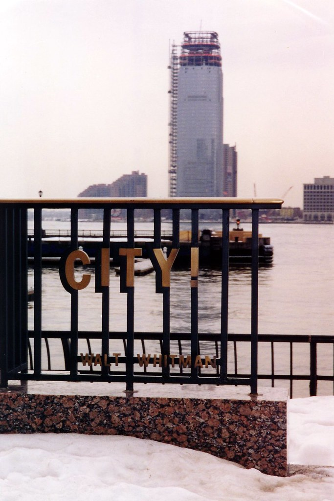 NYC Battery Park City World Financial Center Plaza Flickr