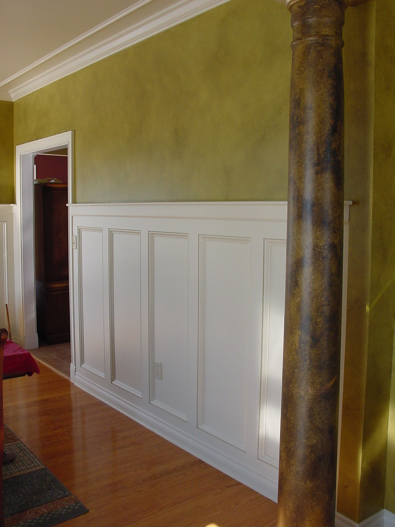 Dining Room Wainscoting Mission Style Wainscoting And