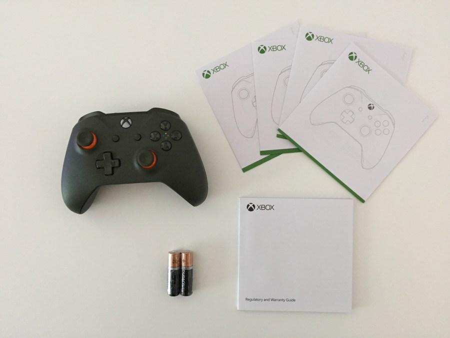 20170216 Manette Xbox One S vert Kaki 00006