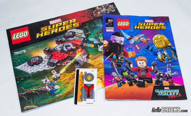 REVIEW LEGO 76079 - Marvel Gardiens de la Galaxie Vol 2 - L
