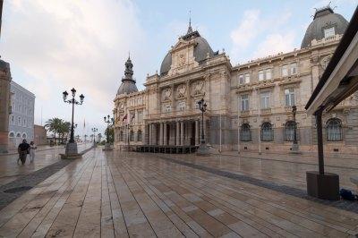 Cartagena Spain square