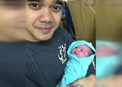 Alif Satar Sambut Kelahiran Anak Kedua