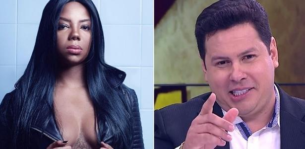 Record demite apresentador de TV que chamou cantora de macaca, ludmilla e marcão