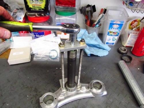 Tightening Puller Bolt Lower Steering Stem Bearing Puller