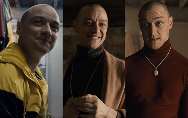 James McAvoy Split