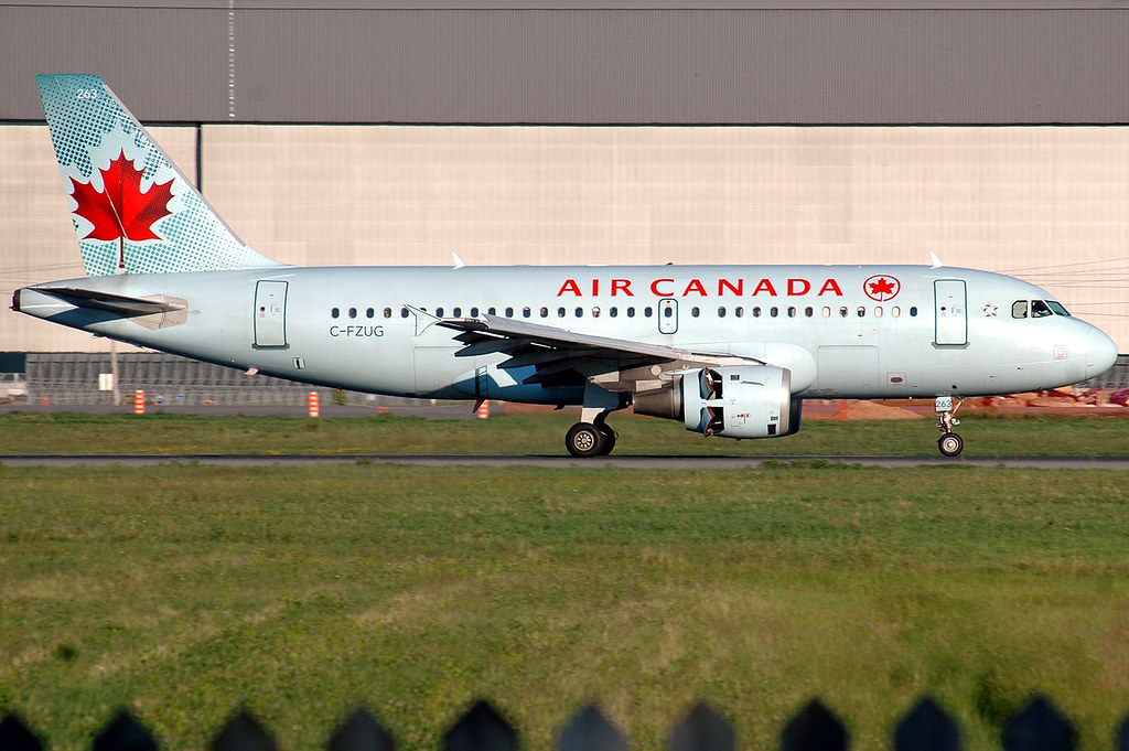 Polar Blue Airbus A319 New Livery Standing Out On This