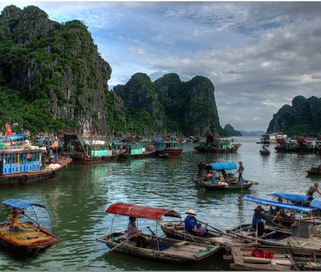 Hon Gai Vietnam By Howard Somerville