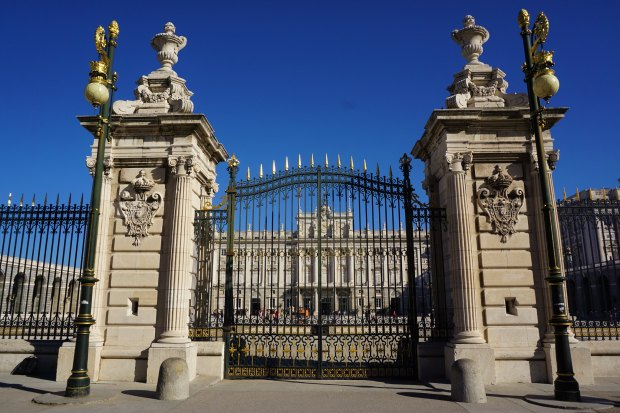 Palacio Real de Madrid gates