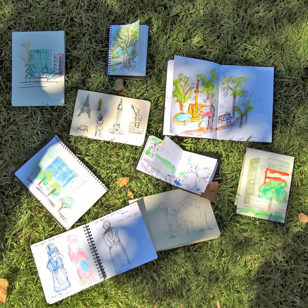 Expressive Travel Sketching Workshop Adelaide