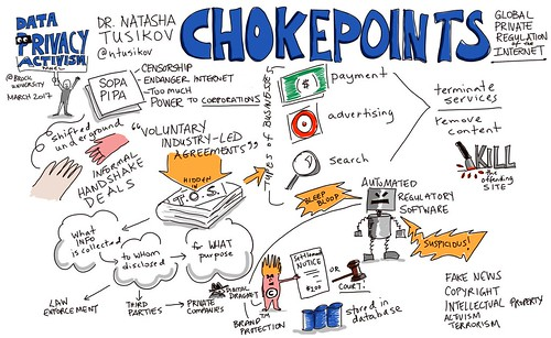 Chokepoints: Global Private Regulation of the Internet by @ntusikov @BrockFOSS #viznotes