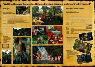 Brochure Thai Jungles Zipline and Trekking Chiang Mai Thailand 2