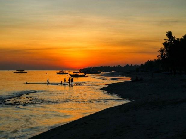 Puesta de sol Bantayan