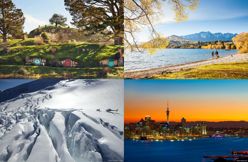 four seasons in one day NZ