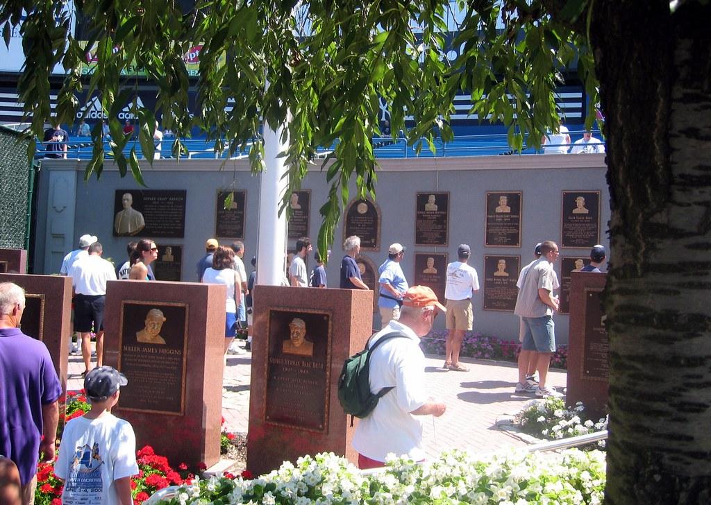 Nyc Bronx Yankee Stadium Monument Park Monument