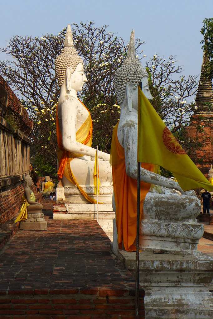 Thaïlande - Ayutthaya - 211 - Wat Yai Chai Mongkhon