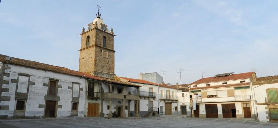Torre del Reloj Plaza Mayor Lumbrales Salamanca 11