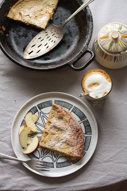 Apple-Spice Dutch Baby