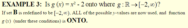 One-to-one and Onto Functions-4