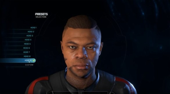 Mass Effect Andromeda - Male Head 9