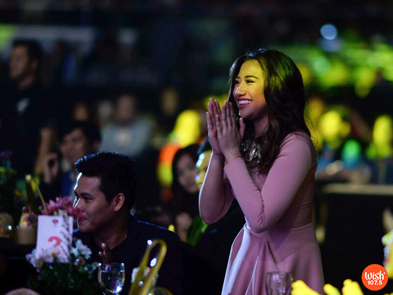 Morissette Amon is the big winner in this year's edition with a total of 8 awards