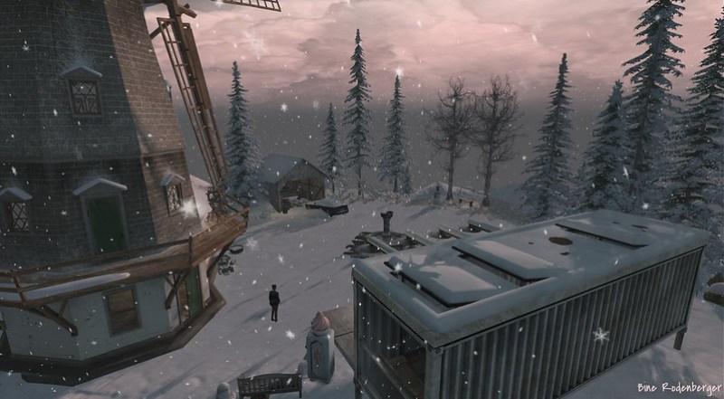 Binemust Winter Scene