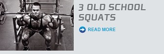 3 Old School Squats