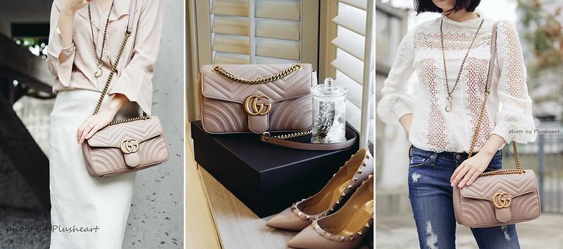 ▌那些年‧我認真買的包 ▌ Gucci GG Marmont 2.0 matelassé shoulder bag ‧ Net-A-Porter跨區購物教學