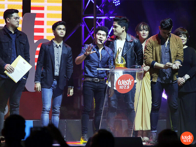 The Juans Promwins the Wish Original Song of the Year by a Group or Duo
