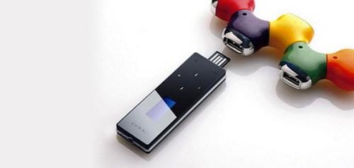 Reproductor de MP3 y MP4 de Oppo.