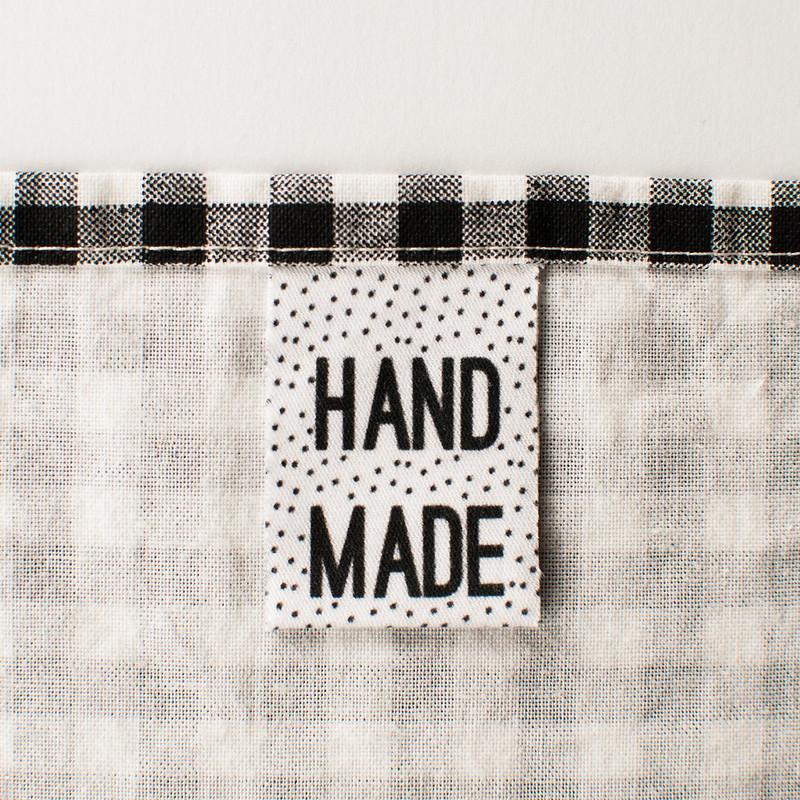 """Handmade"" apparel labels"