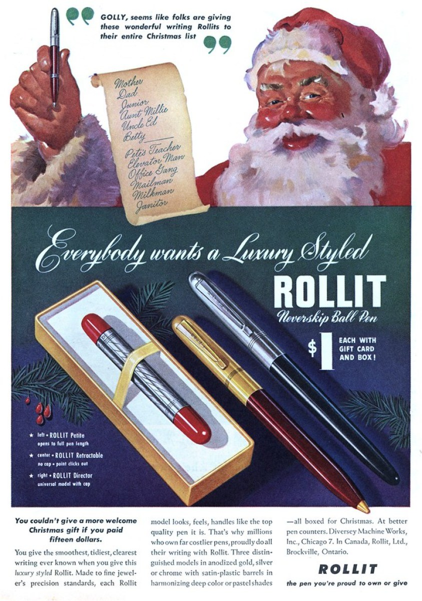 Rollit - published in Liberty - December 1948