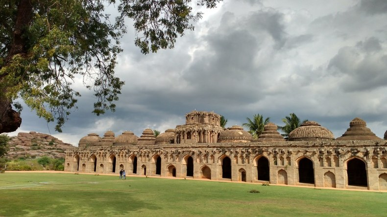 Elephant stable, Hampi. Source