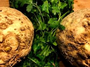 Apionabos y cilantro buena combinación. koketo