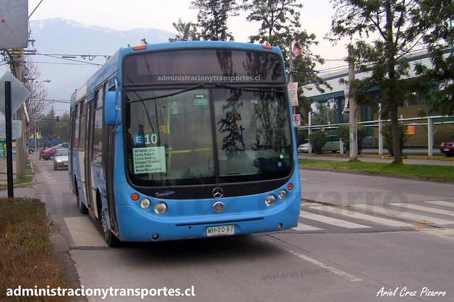 Transantiago E10 | Unitran | Metalpar Tronador - Mercedes Benz / WH2097