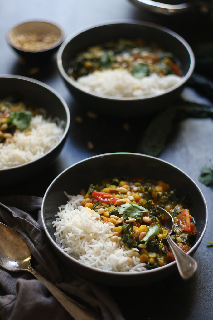 how to cook kale indian style