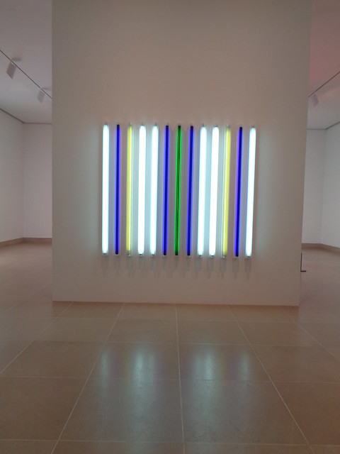 Stephen Antonakos Neon, Dallas Museum of Art