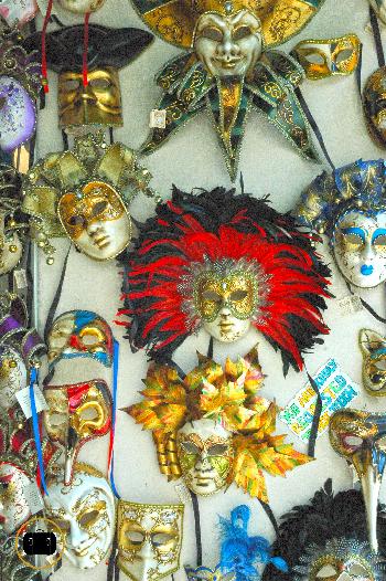 Variedad de máscaras
