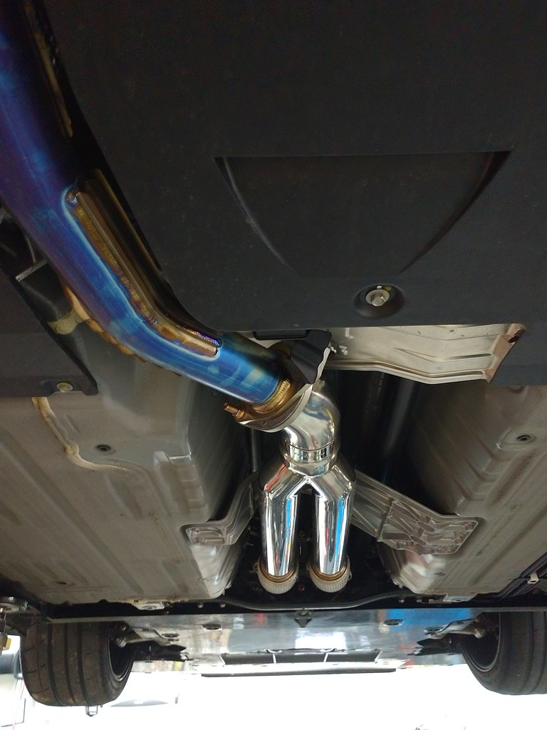 nismo r tune straight pipe exhaust kit