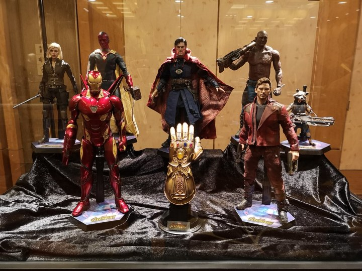 Do you recognise all these Marvel characters?