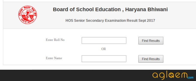 HBSE Open 12th Result 2018