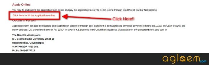 KLUEEE 2019 Application Form
