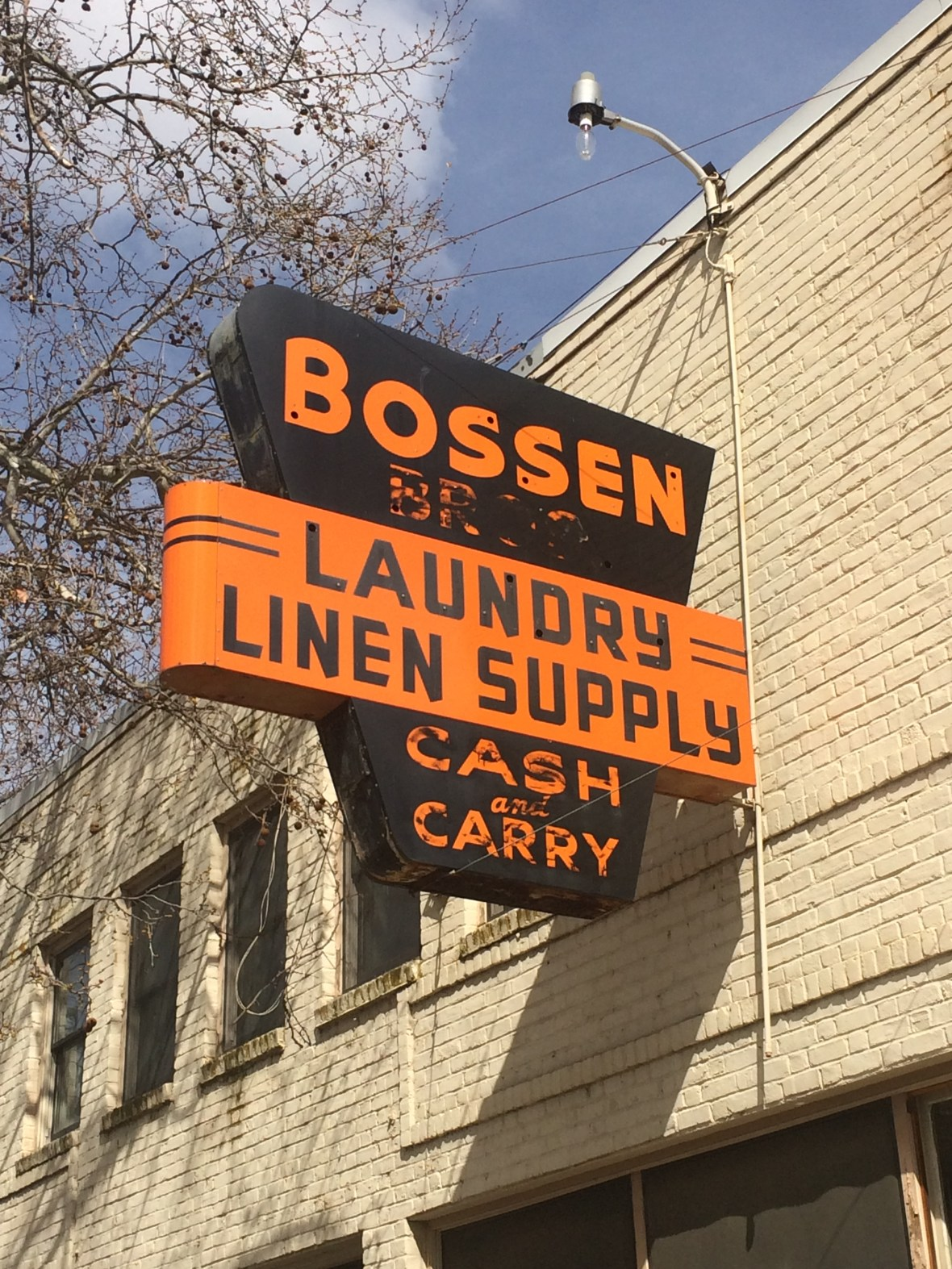 Bossen Bros. Laundry - 222 3rd Street, Marysville, California U.S.A. - March 8, 2018