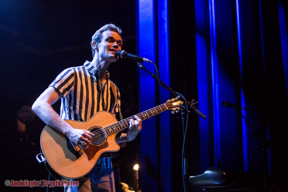 James TW performing at The Vogue Theatre in Vancouver, BC on March 20th 2018